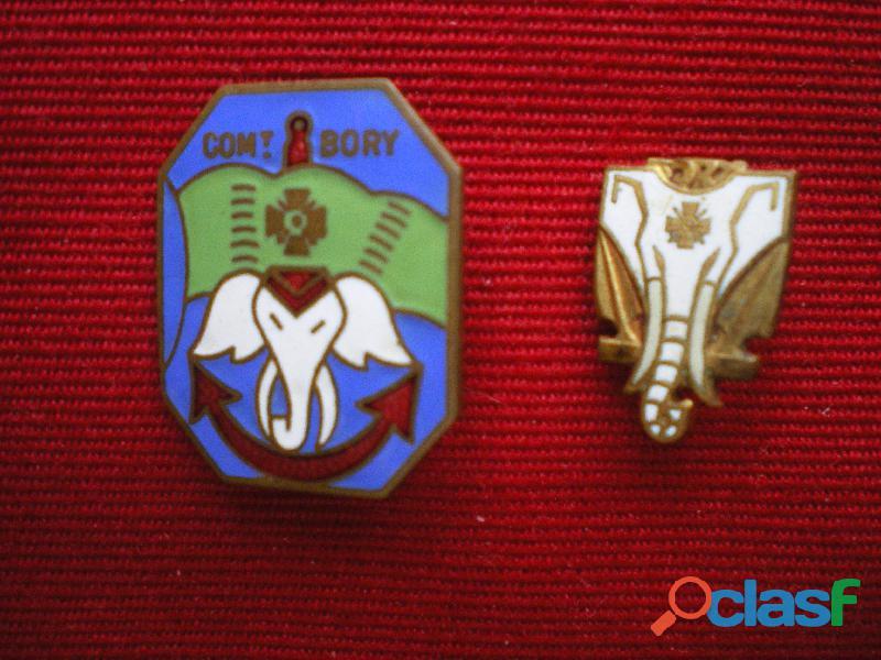 insigne de marine aviso dragueur commandant bory.