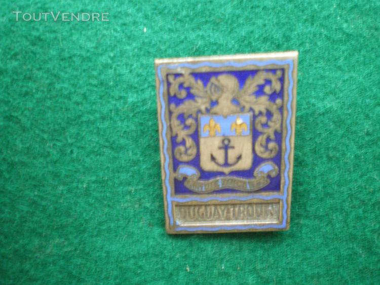 insigne de marine   Croiseur Duguay  Trouin.