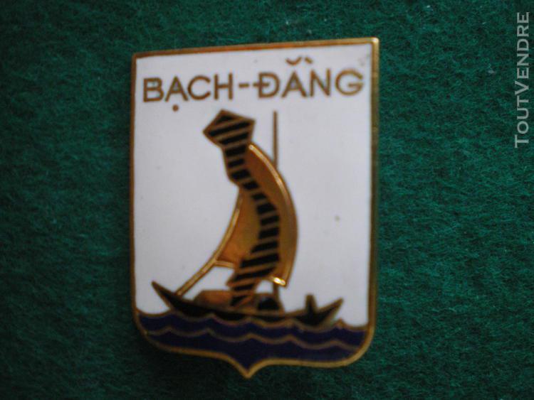 Insigne de marine   dragueur bach dang.
