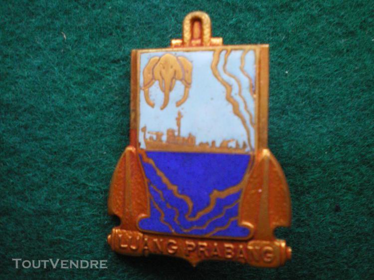 "Insigne de marine du patrouilleur "" luang prabang ""."