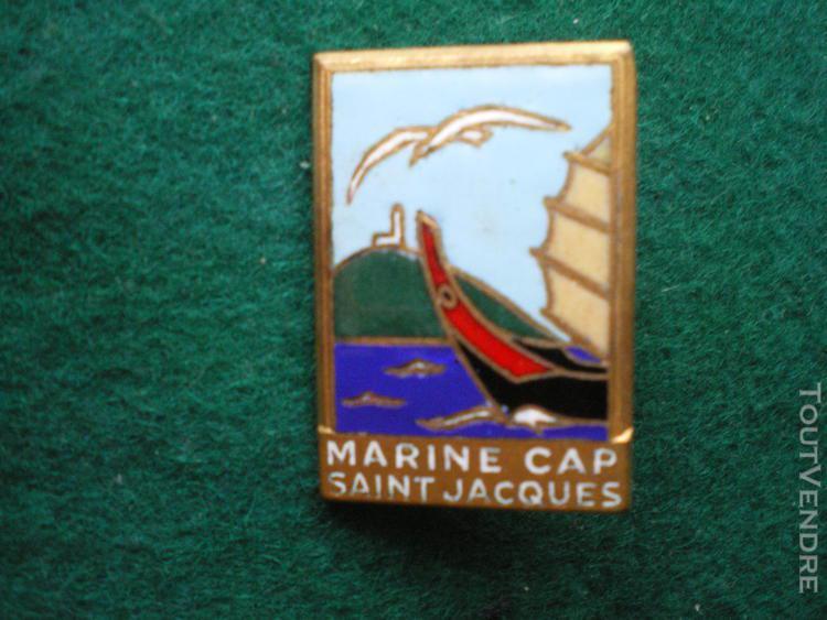 "Insigne de marine ""marine cap saint jacques."
