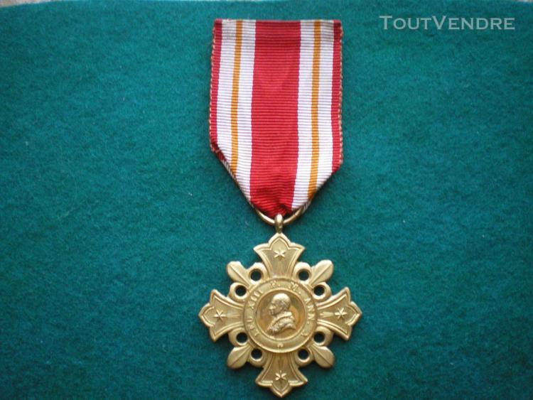 "médaille ""pro ecclesia et pontifice""medal church and"