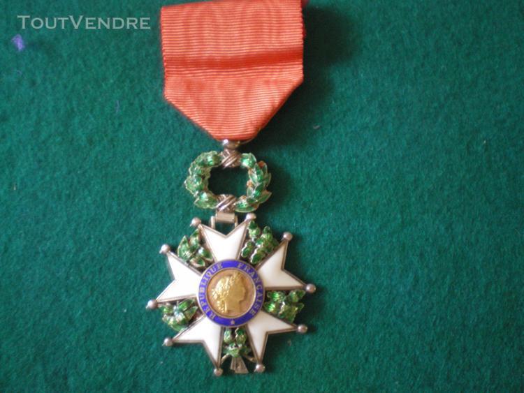 Ordre de la légion d'honneur 4° rép.modèle de luxe.