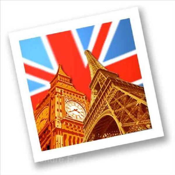 Cours anglais / français - avec 1 premier cours gratuit +