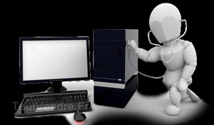 Dépannage informatique d'ordinateur total 25 € créteil