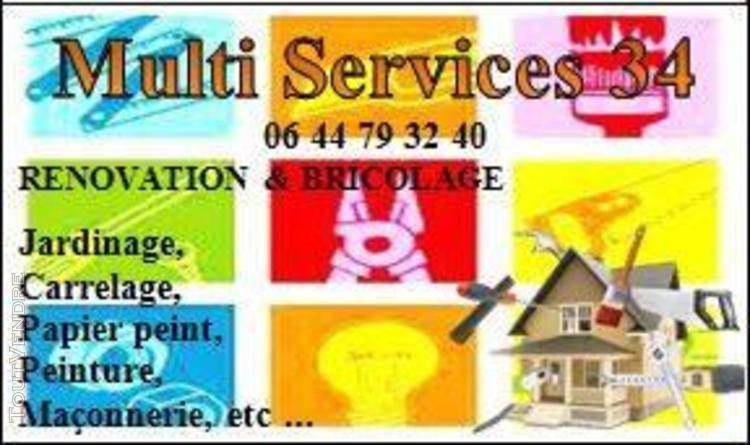 Multi services 34 montpellier 34000 artisan - dépannage