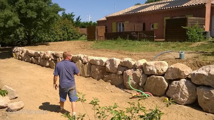 Terrassement et amenagement exterieur magalas 34480 artisan