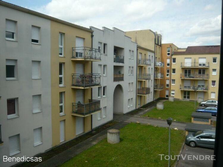 Location appartement f2 en résidence sur metz metz 57000