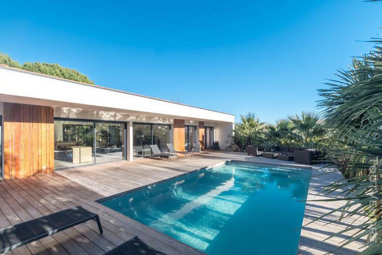 Villa californienne à ossature bois cogolin 83310 vente