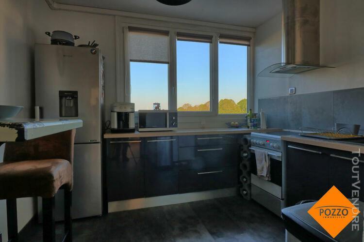 Appartement 3 pièces 66 m² - exposition traversante -
