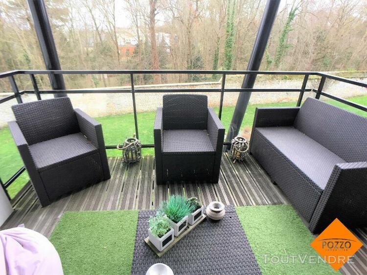 Appartement herouville saint clair 2 pièce(s) 39.62 m² -