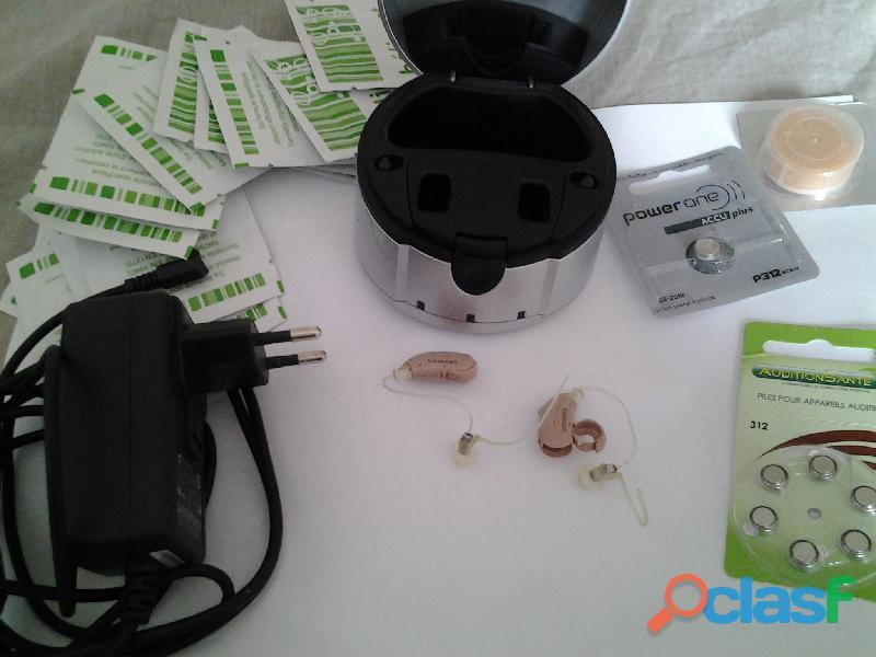 Paire d appareils auditifs siemens pure 700