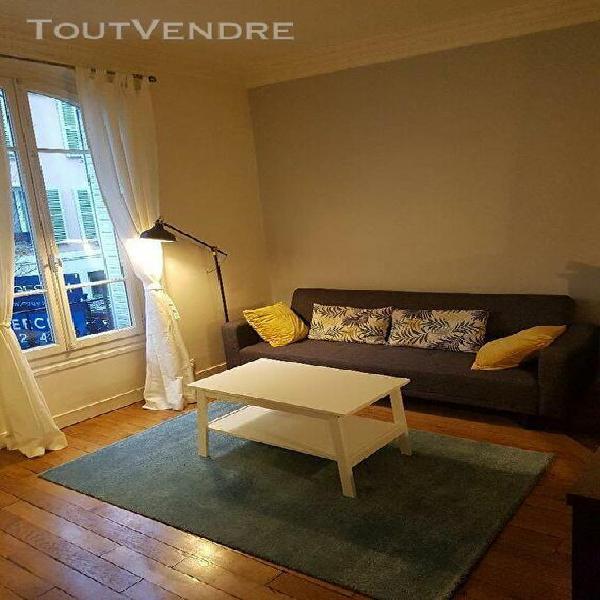 Levallois - 2 pièces meublé levallois-perret 92300