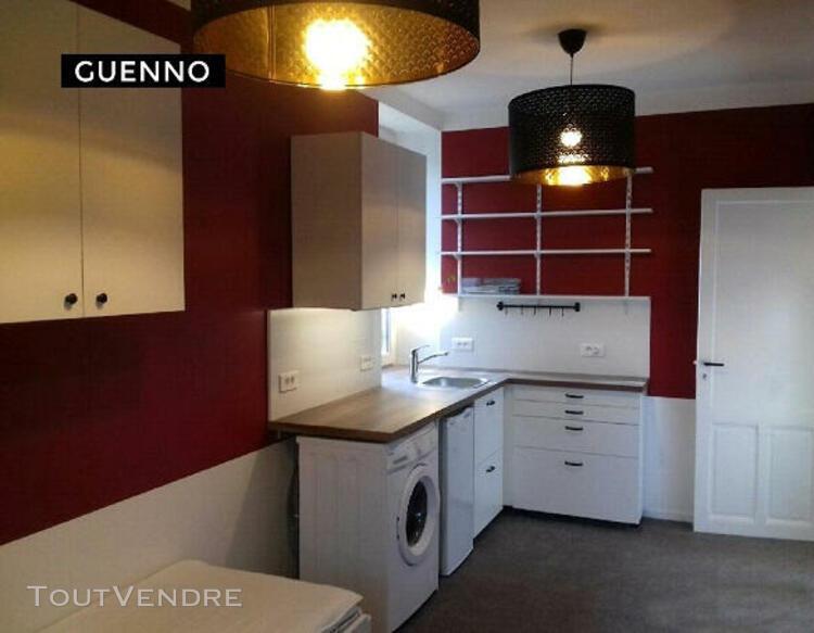 Location studio meublé - 17 m² - location immobilier