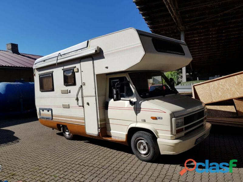 Camping car fiat ducato