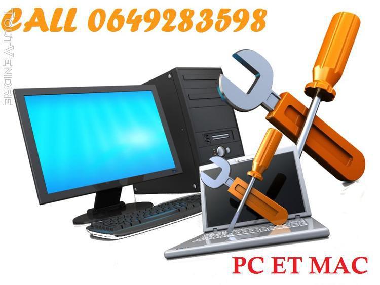 Services et dépannages en informatiques pc et mac antony