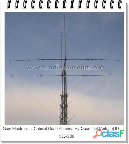 Antenne hy quad 244