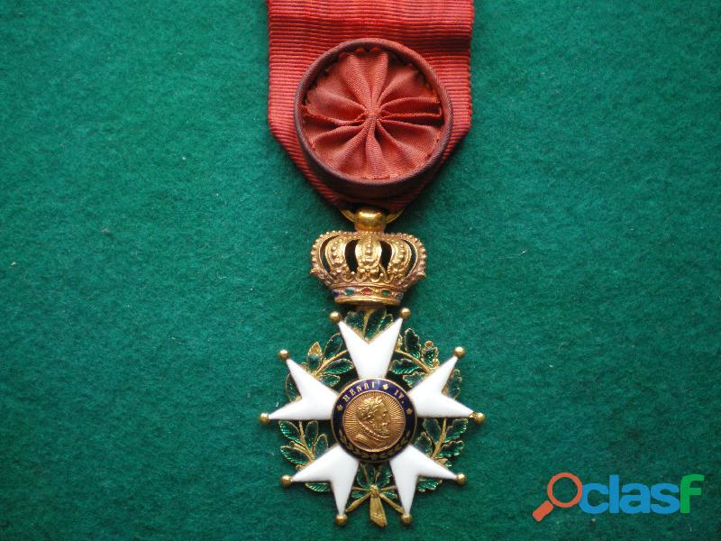 Ordre de la légion d'honneur monarchie de juillet.