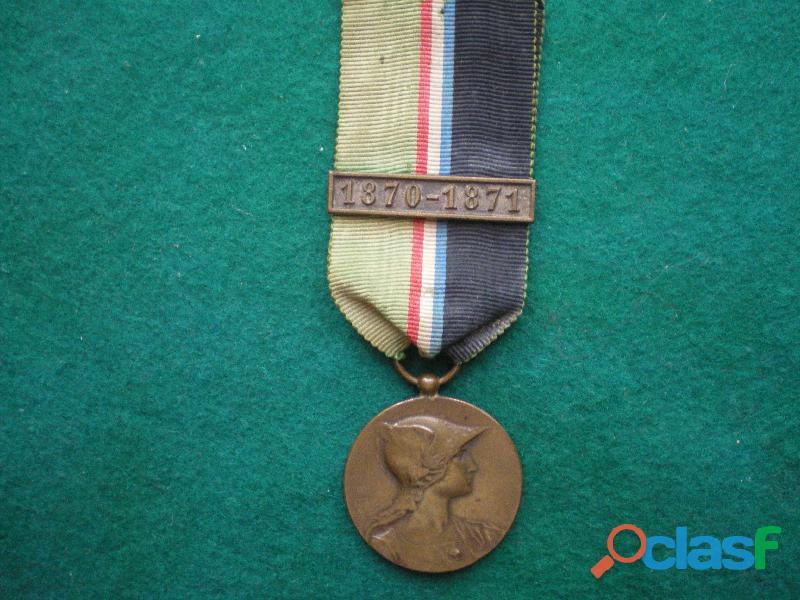 Médaille dite de rivet 1870 1871.
