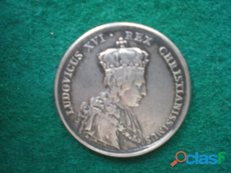 Médaille du sacre du roi Louis XVI.