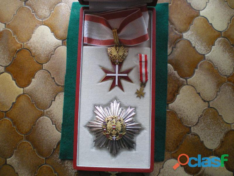 Ordre de la République Fédérale d'Autriche.
