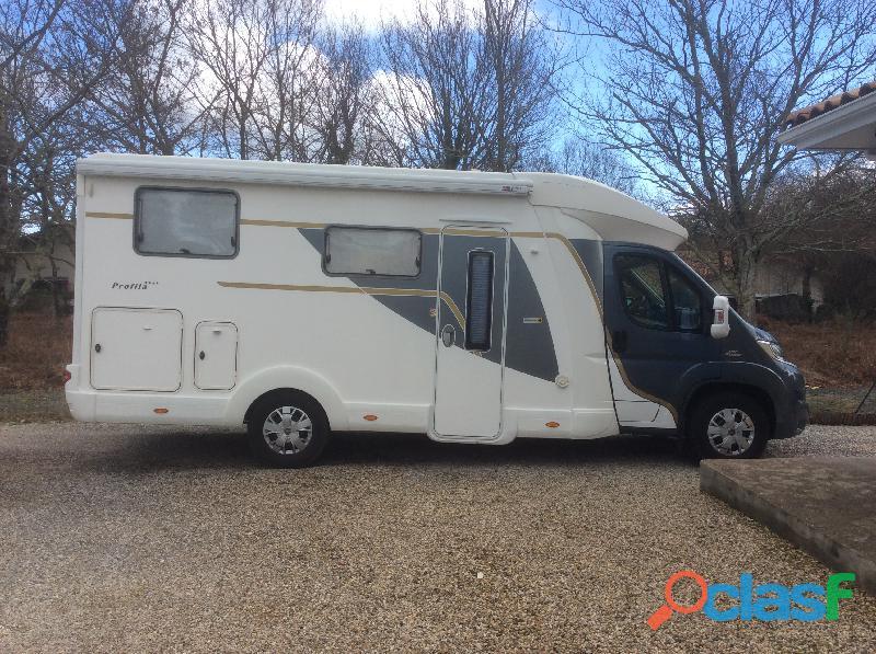 Camping car eura mobil pt 680 qb mondial 2015