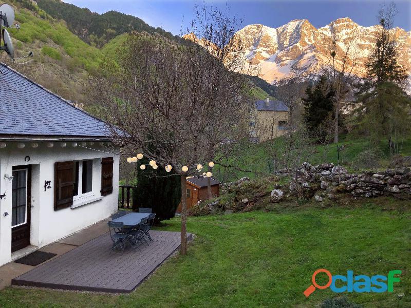 Location maison de vacances à gavarnie / hautes pyrénées