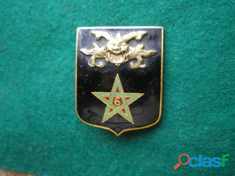 Insigne colonial   6° Régiment de Spahis Marocains