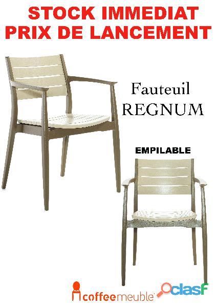 Fauteuil et mobilier de terrasse restaurant