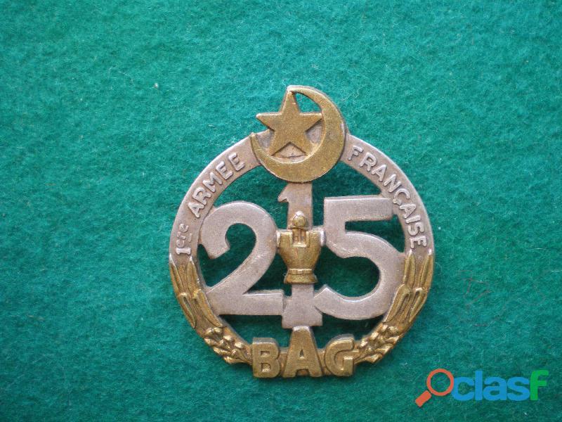 Insigne du génie   215° bag 1° armée française