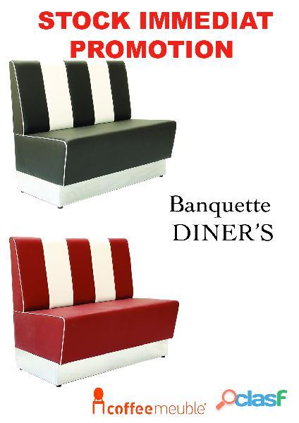 Banquette,chaise de restaurant et brasserie