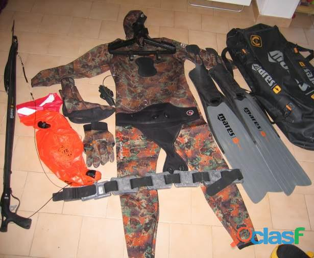 Equipement chasse sous marine  mares