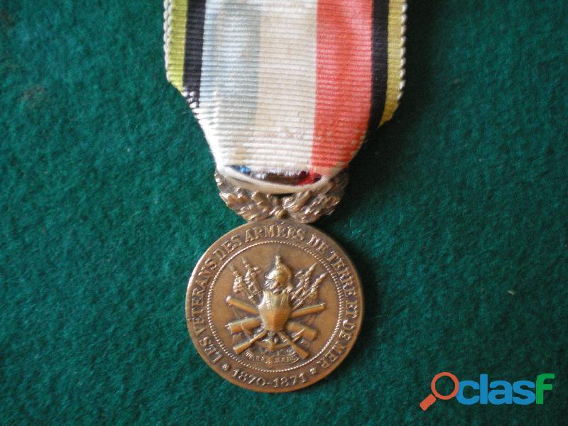 Médaille d'Honneur des Vétérans de 1870 1871.