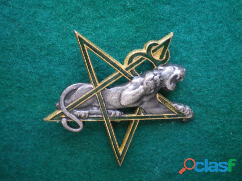 Insigne colonial   8° régiment de tirailleurs marocains.