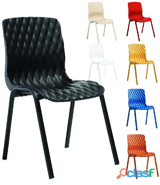 Chaise de terrasse de restaurant et brasserie