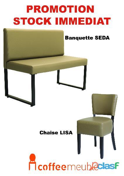 Banuette,chaise et table bistrot et restaurant