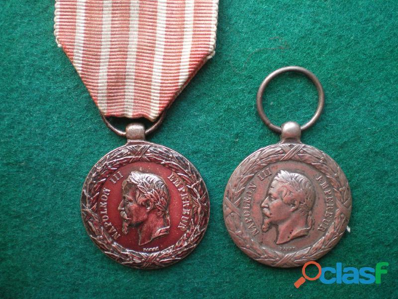 Médaille de la campagne d'italie 1859.