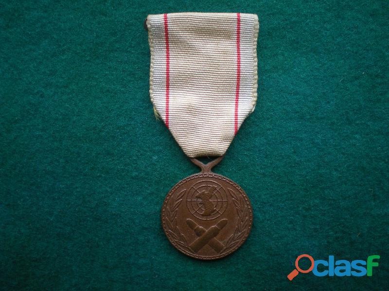 Médaille commémorative de la corée du sud.