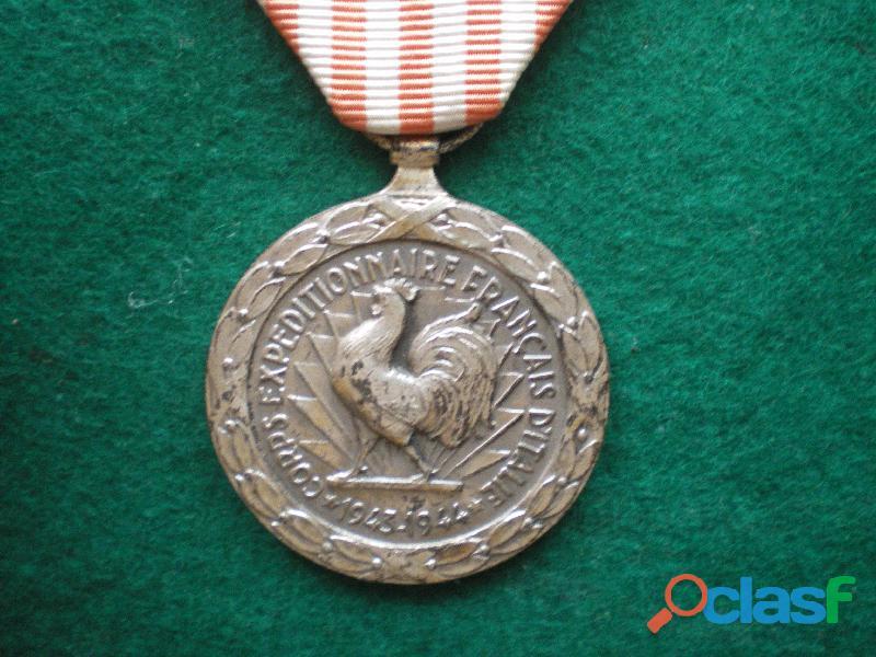 Médaille de la campagne d'italie 1953.
