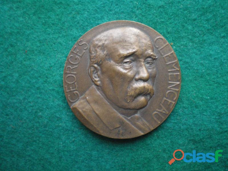 Médaille de Georges CLEMENCEAU.