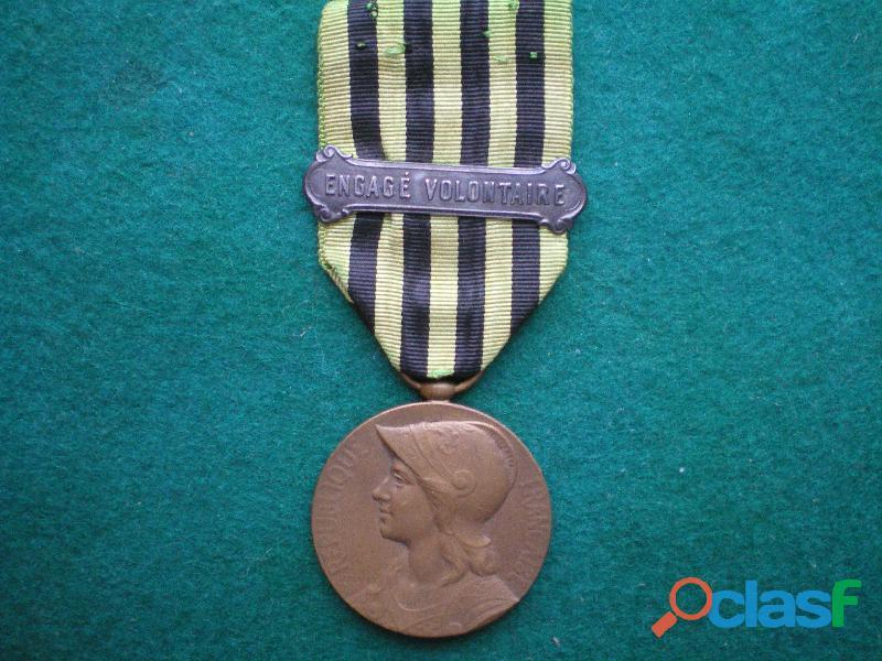 Médaille des vétérans de 1870 1871  2° modèle.