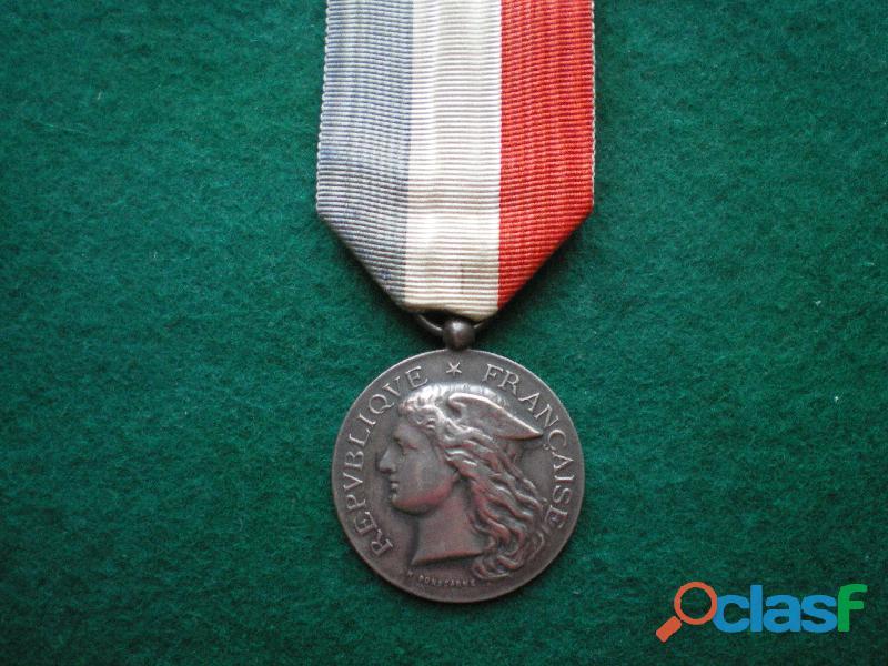 Médaille d'Honneur des Epidémies.