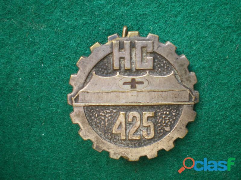 Insigne de santé   H.C 425 Hôpital de Campagne.