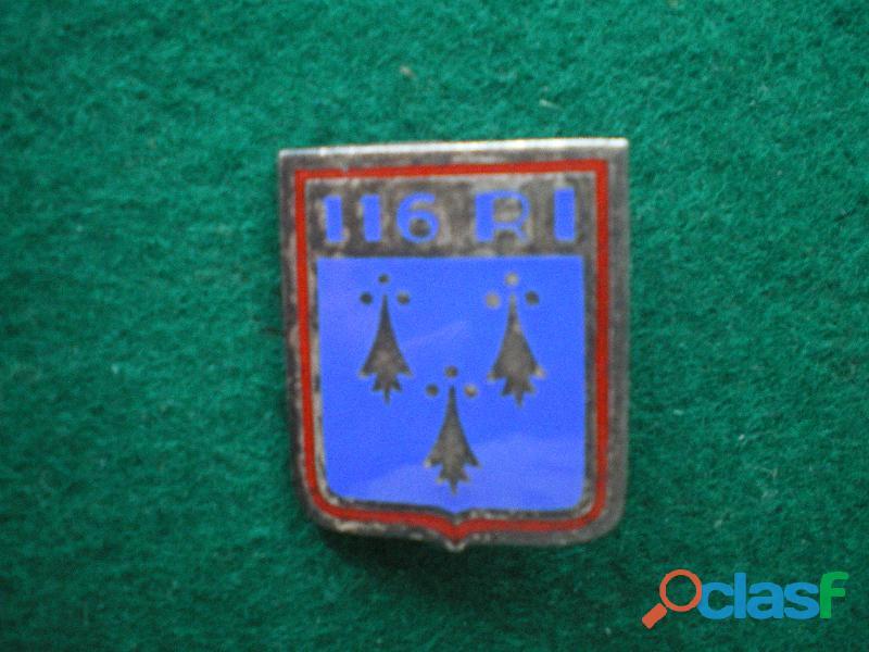 Insigne d'infanterie du 116° ri.