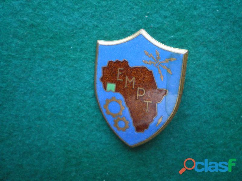Insigne d'infanterie ecole militaire de bingerville e.m.p.t