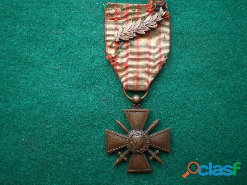 Croix de guerre 1914 1918.