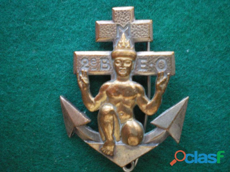 Insigne colonial   2° Bataillon de Marche en Extrême Orient.