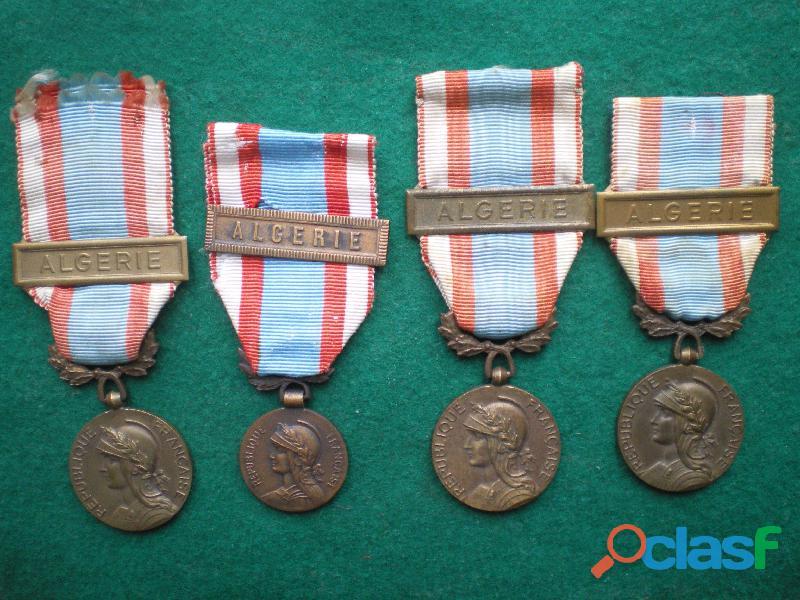 Médaille des Opérations en Afrique du Nord.