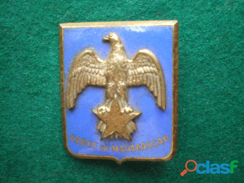 Insigne de Gendarmerie. Garde de Madagascar.