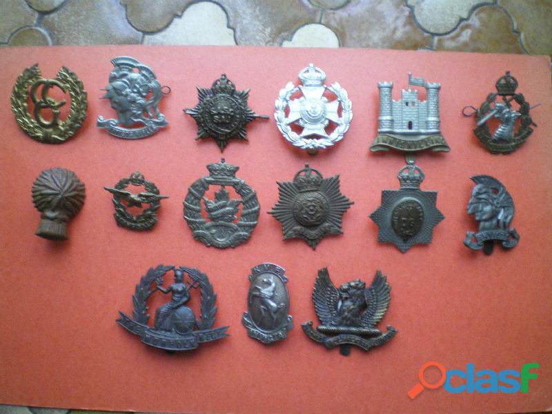 Insignes britanniques en métal Cap badge.